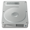 128x128px size png icon of drive internal