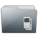 128x128px size png icon of folder adobe device central
