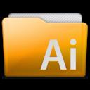 128x128px size png icon of folder adobe illustrator
