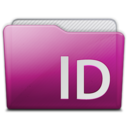 folder adobe indesign Icon