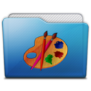 128x128px size png icon of folder art