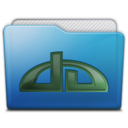128x128px size png icon of folder deviations