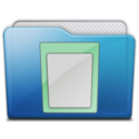 128x128px size png icon of folder documents