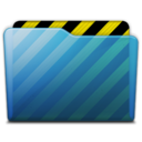 128x128px size png icon of folder work