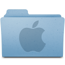 128x128px size png icon of Apple Logo