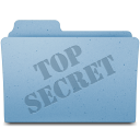 128x128px size png icon of Top Secret