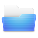 128x128px size png icon of Open