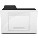 128x128px size png icon of DesktopFolderIcon Y