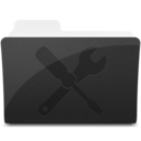 128x128px size png icon of UtilitiesFolder