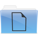 128x128px size png icon of AQUA Documents 1