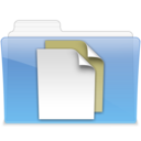 128x128px size png icon of AQUA Documents 2