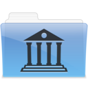 128x128px size png icon of AQUA Library 1