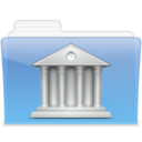 128x128px size png icon of AQUA Library 2
