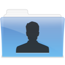 128x128px size png icon of AQUA User