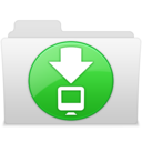 128x128px size png icon of Downloads 2