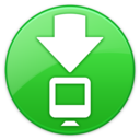 128x128px size png icon of ToolbarDownloadsFolderIcon