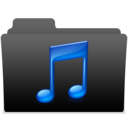 128x128px size png icon of black leopard milk music 2