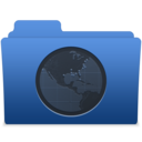 128x128px size png icon of smooth navy blue sites 1