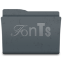 128x128px size png icon of Fonts