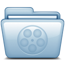 128x128px size png icon of Blue Movies