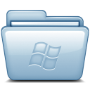 128x128px size png icon of Blue Windows