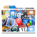 128x128px size png icon of White Apps