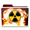 128x128px size png icon of White Burn