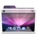 128x128px size png icon of White Desktop Alt