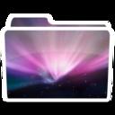128x128px size png icon of White Desktop