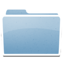 128x128px size png icon of White Generic