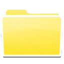 128x128px size png icon of White Yellow