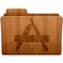 Applications Wood Icon