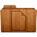 128x128px size png icon of Document Wood