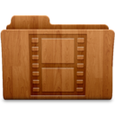 Movies Wood Icon