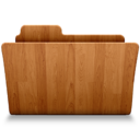 128x128px size png icon of Open Wood