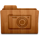 128x128px size png icon of Pictures Wood