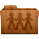 128x128px size png icon of Sharepoint Wood