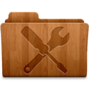 Utilities Wood Icon