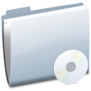 128x128px size png icon of Folder BlankCD