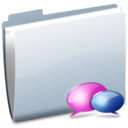 128x128px size png icon of Folder IM
