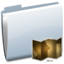 128x128px size png icon of Folder Map
