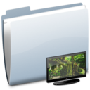 128x128px size png icon of Folder TV