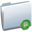 128x128px size png icon of Folder uTorrent