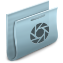 128x128px size png icon of Camera Folder 2