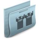 128x128px size png icon of Groups Folder