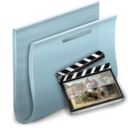 128x128px size png icon of Movies Folder 2