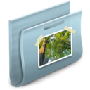 128x128px size png icon of Pictures Folder 2