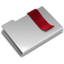 128x128px size png icon of Bookmarks