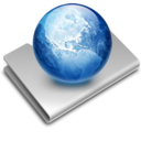 128x128px size png icon of Sites Alternate