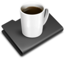 128x128px size png icon of Coffee Black